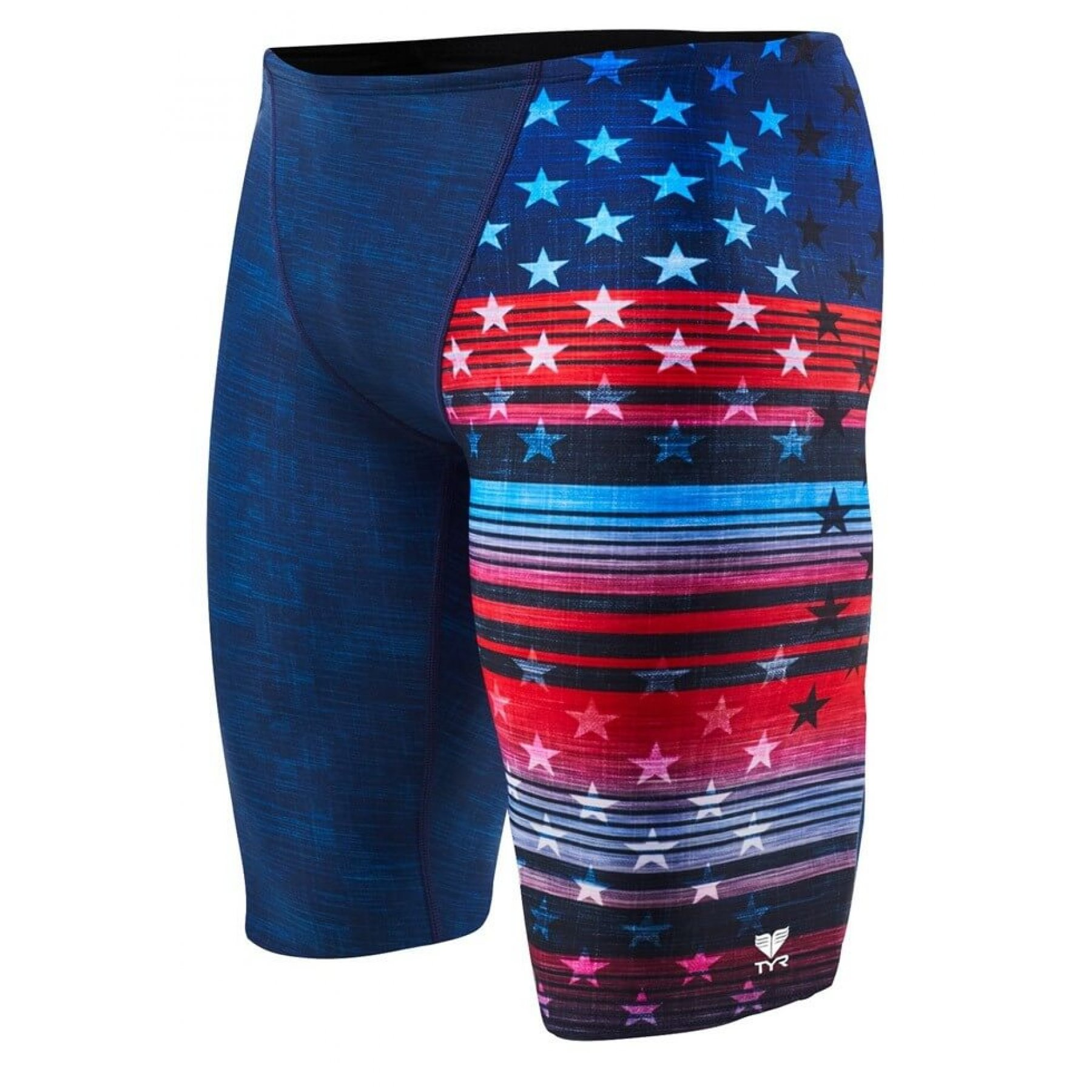 e1fdec587 TYR Live Liberty Allover Jammer Red-White-Blue