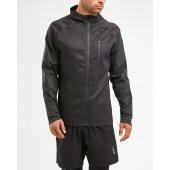 2XU HEAT Liteweight Membrane Jacket - neagra - jacheta alergare