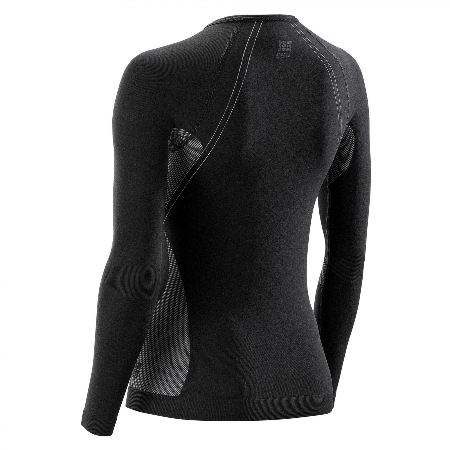 Cep Shirt Active Ultralight W Long Sleeve Black