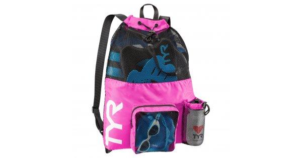 b12a40963f TYR Big Mesh Mummy Bag pink