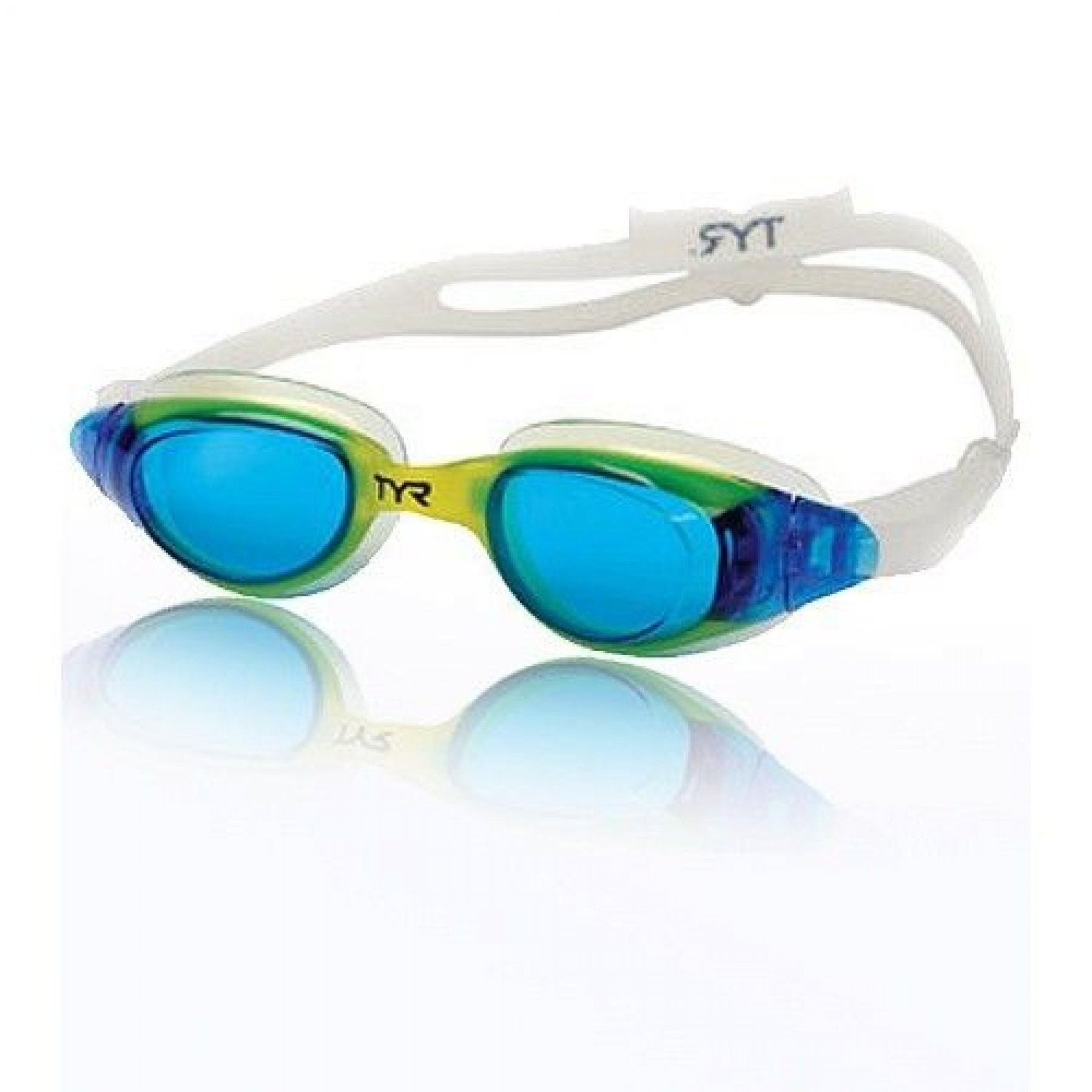 1f35c3dd521 TYR Technoflex 4.0 Junior Swiming Goggles Blue-Yellow. Out Of Stock. Click  Image for Gallery