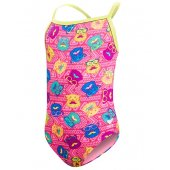 TYR Costum Copii Bear Dog Diamondfit roz