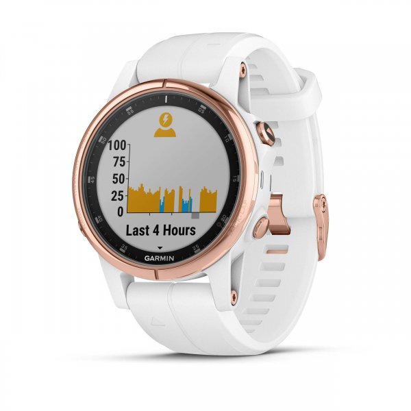 garmin fenix 5s plus sapphire white rose gold. Black Bedroom Furniture Sets. Home Design Ideas