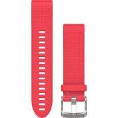 Garmin curea silicon roz QuickFit 20 pentru Fenix 5s