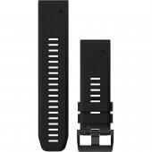 Garmin curea silicon neagra QuickFit 26 pentru Fenix 5x / 3 / 3HR