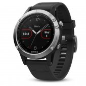 Garmin Fenix 5 Silver with black band