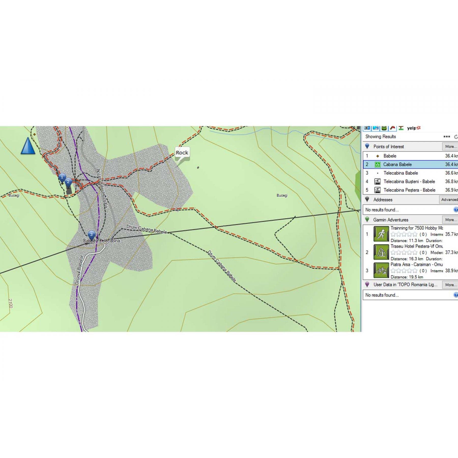 Garmin Romania Topo Routable Map