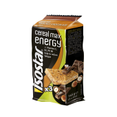 Trio Cereal Max Energy Bar Hazelnut Chocolate 3x55g Isostar
